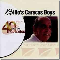 40 años de éxitos Billo´s Caracas Boys