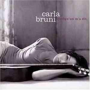 Carla Bruni - Quelqu un ma dit