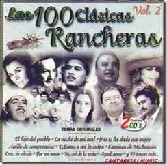 las 100 clasicas rancheras vol 2