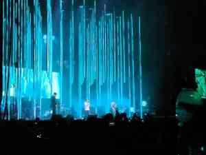 concierto radiohead en chile 27-03-2009